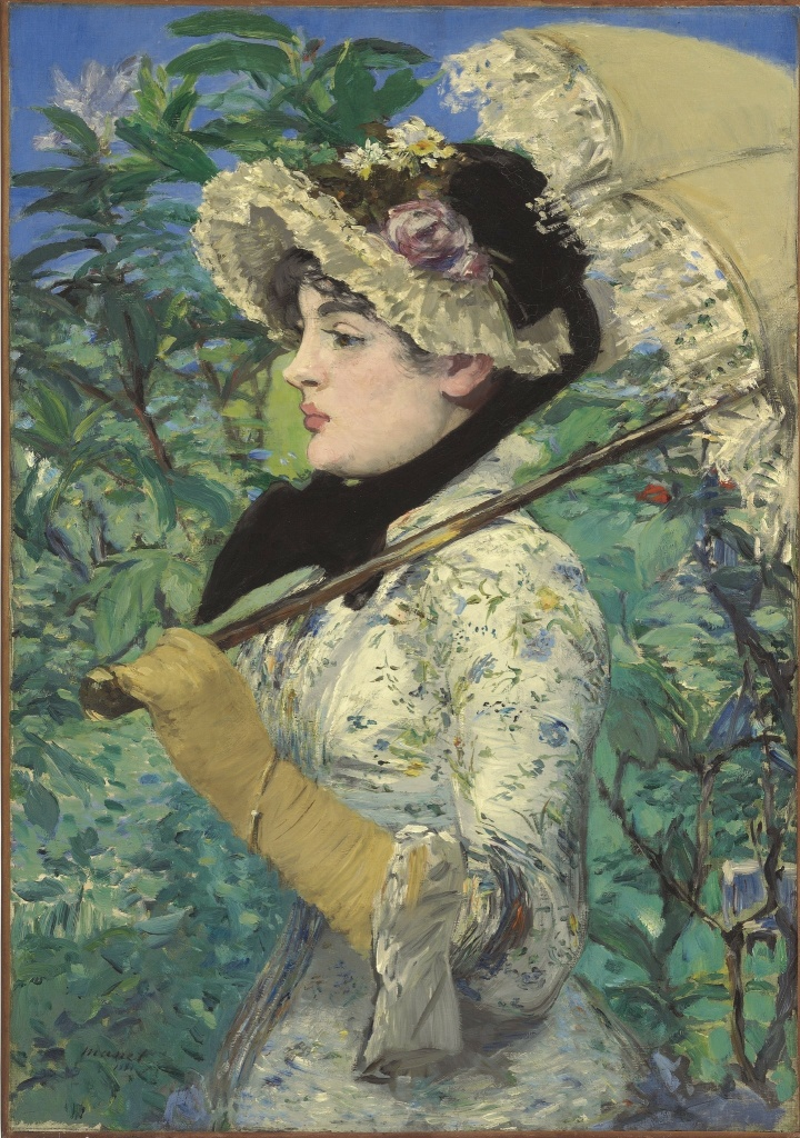 """The Getty spent $65m (and change) for this late Manet masterpiece, """"Spring."""""""