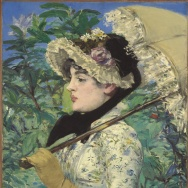 "The Getty spent $65m (and change) for this late Manet masterpiece, ""Spring."""