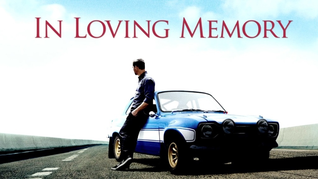 A Tribute to Paul Walker from the