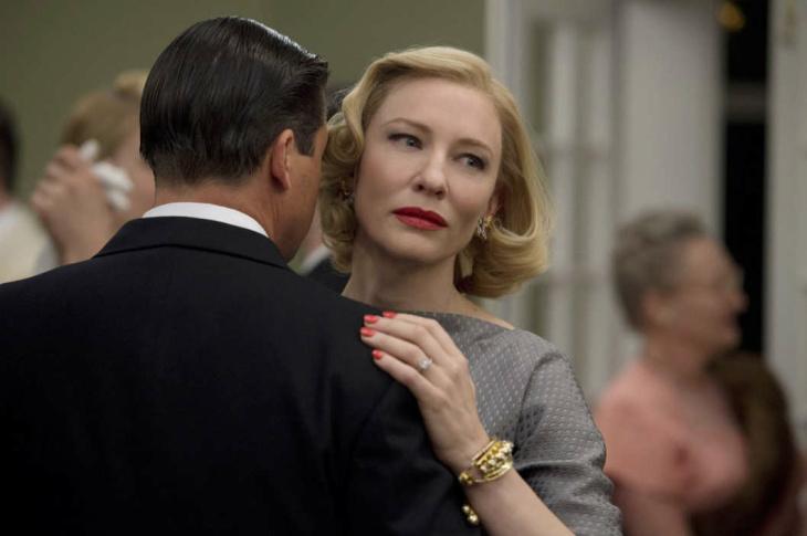 Actress Cate Blanchett stars in the 1950s lesbian romance film