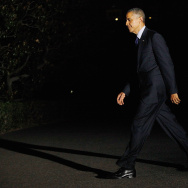 U.S. President Obama Returns To The White House