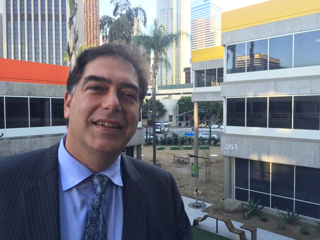 Hernan Vera, member of the Civilian Oversight Commission for the L.A. County Sheriff's Department.