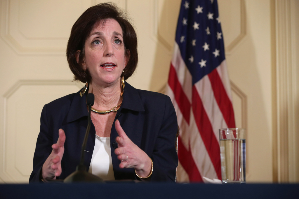 Assistant Secretary of State for Western Hemisphere Affairs Roberta Jacobson answers reporters' questions in both English and Spanish during a news conference at the Residence of the Chief of Mission of the U.S. Interests Section January 23, 2015 in Havana, Cuba. Jacobson led a delegation from the State Department in meetings with the Cuban government that could restore diplomatic ties and mark the end of more than 50 years of of Cold War-era hostility between the two countries.
